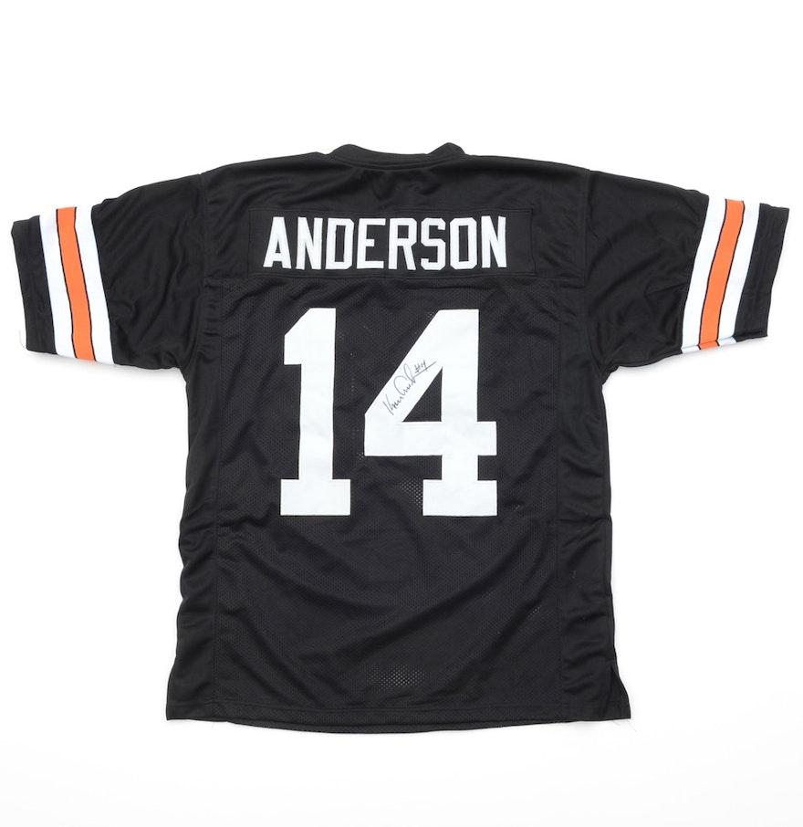 74095a410 ... Ken Anderson Signed Cincinnati Bengals Football Jersey .