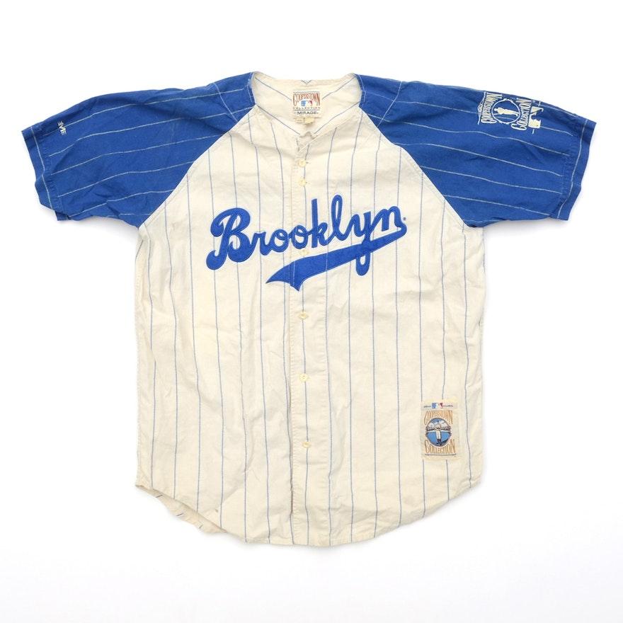 d11d03b73 Jackie Robinson Brooklyn Dodgers Throwback Jersey   EBTH