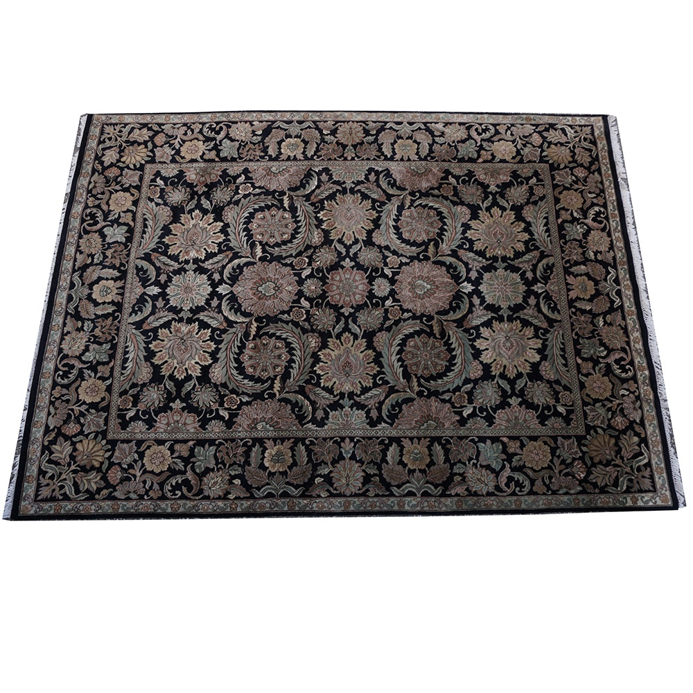 Handwoven Indian Agra-Style Area Rug