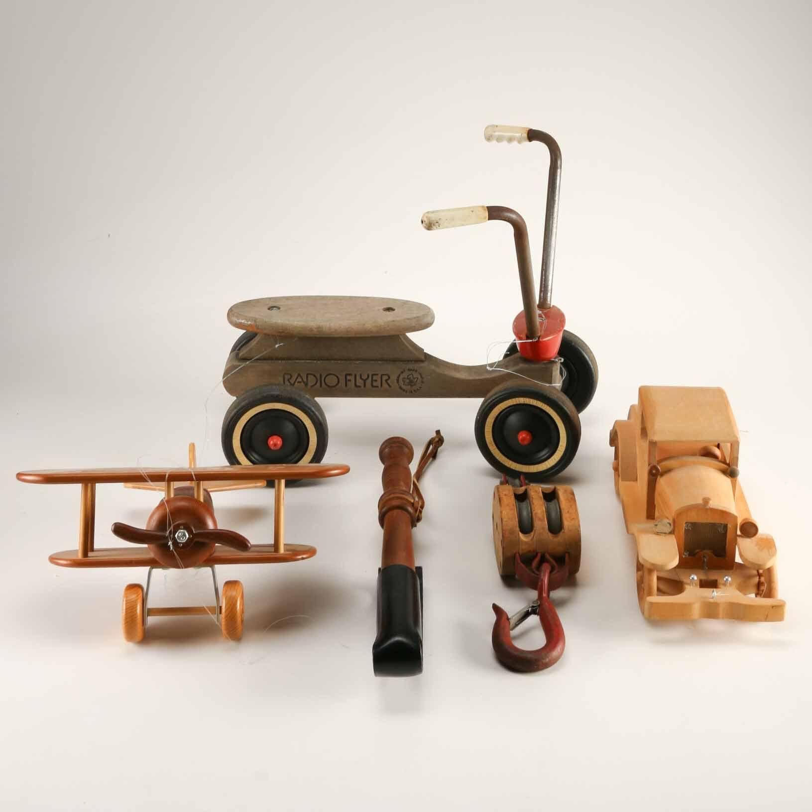 Vintage Wood Toys 78