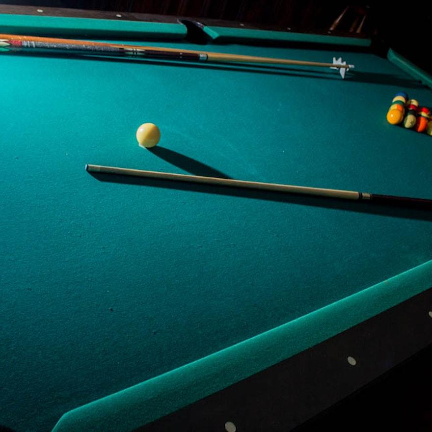 Vintage Fischer Pool Table EBTH - Fischer pool table