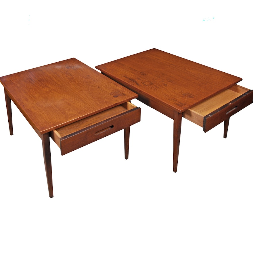 Mid Century Modern Wood Accent Tables Ebth