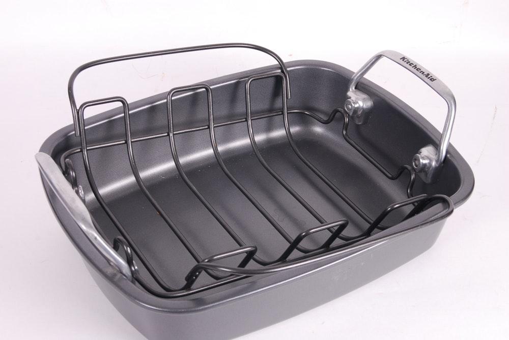 Kitchenaid Roasting Pan With Rack Ebth