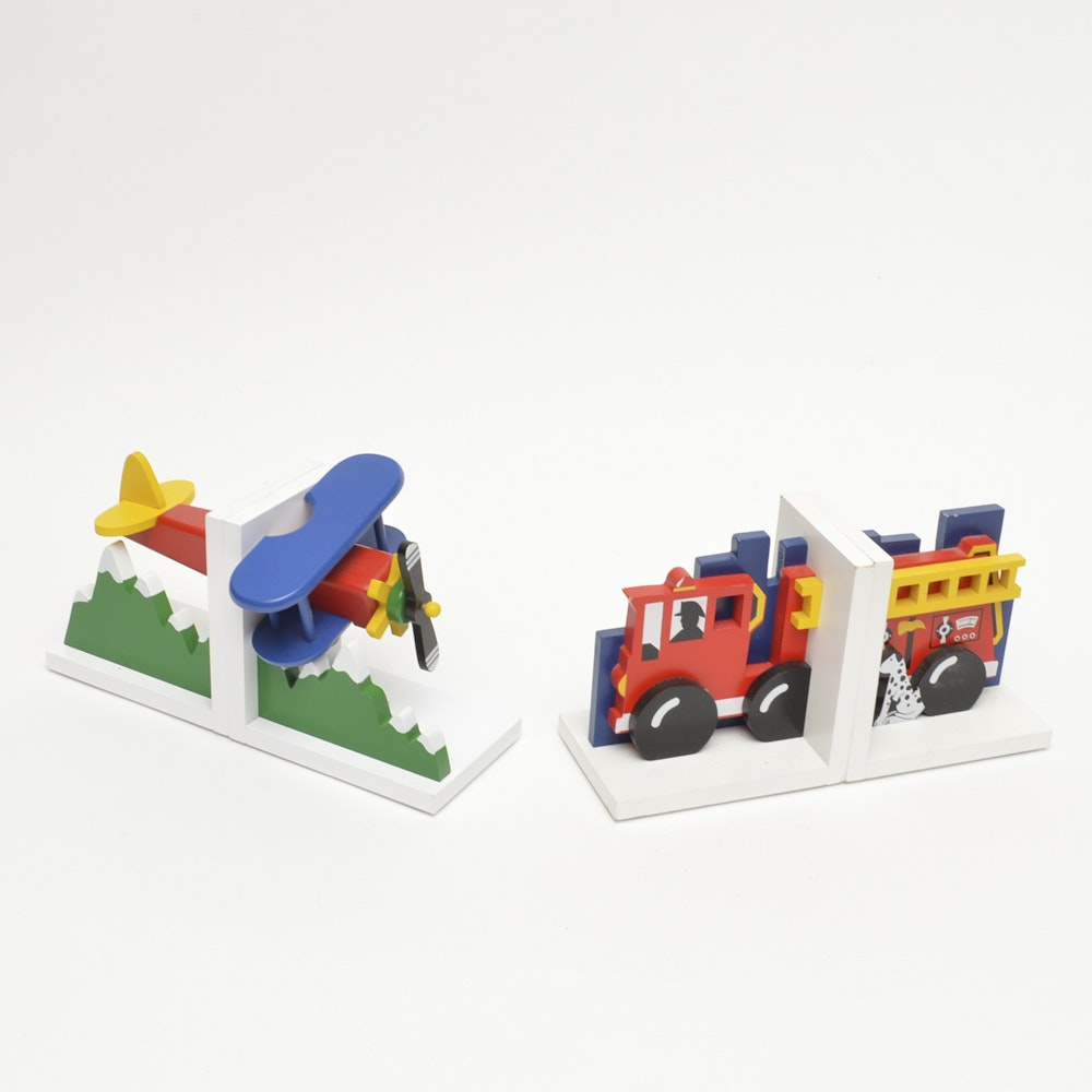 Grouping of Children's Bookends