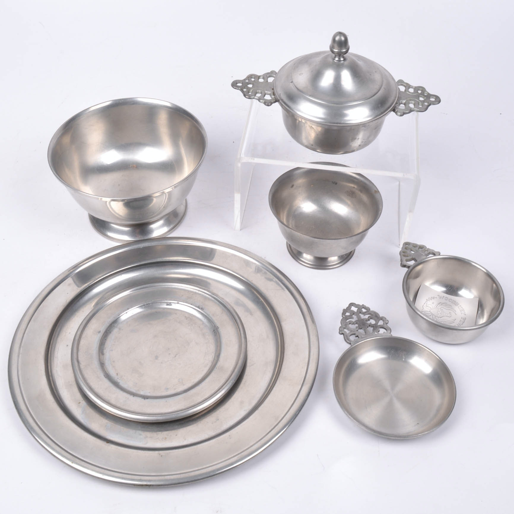 Collection of Woodbury Pewter