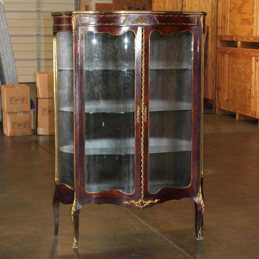Antique French Curio Cabinet ... - Antique French Curio Cabinet : EBTH