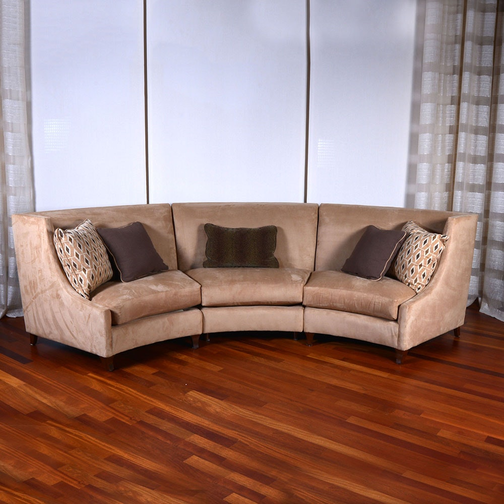 Curved Sectional from Century Furniture