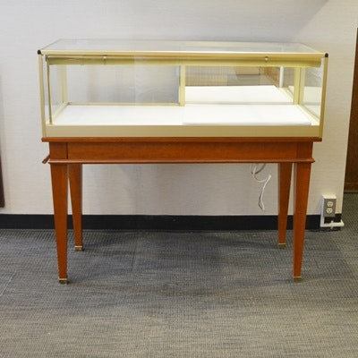 Jewelry Vision Display Case Manufactured by Castle Showcase Company