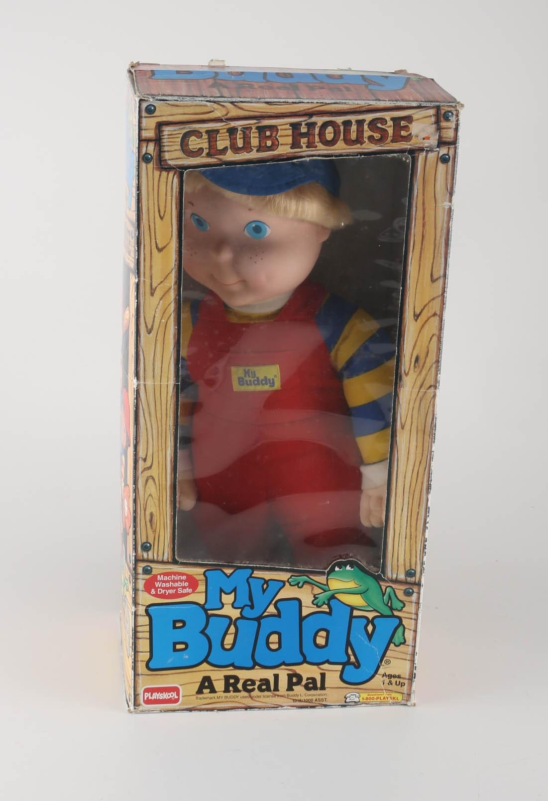 Playskool My Buddy Doll With Vintage Play Doh Set Ebth