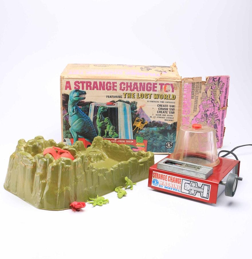 Strange Change Toy : Vintage strange change lost world playset ebth