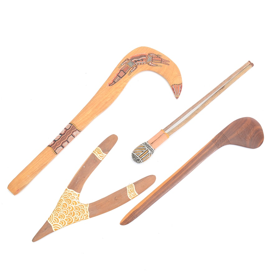 Group Of Australian Aboriginal Tools Ebth