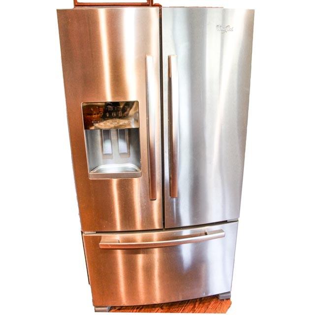 Whirlpool Stainless Three Door Refrigerator