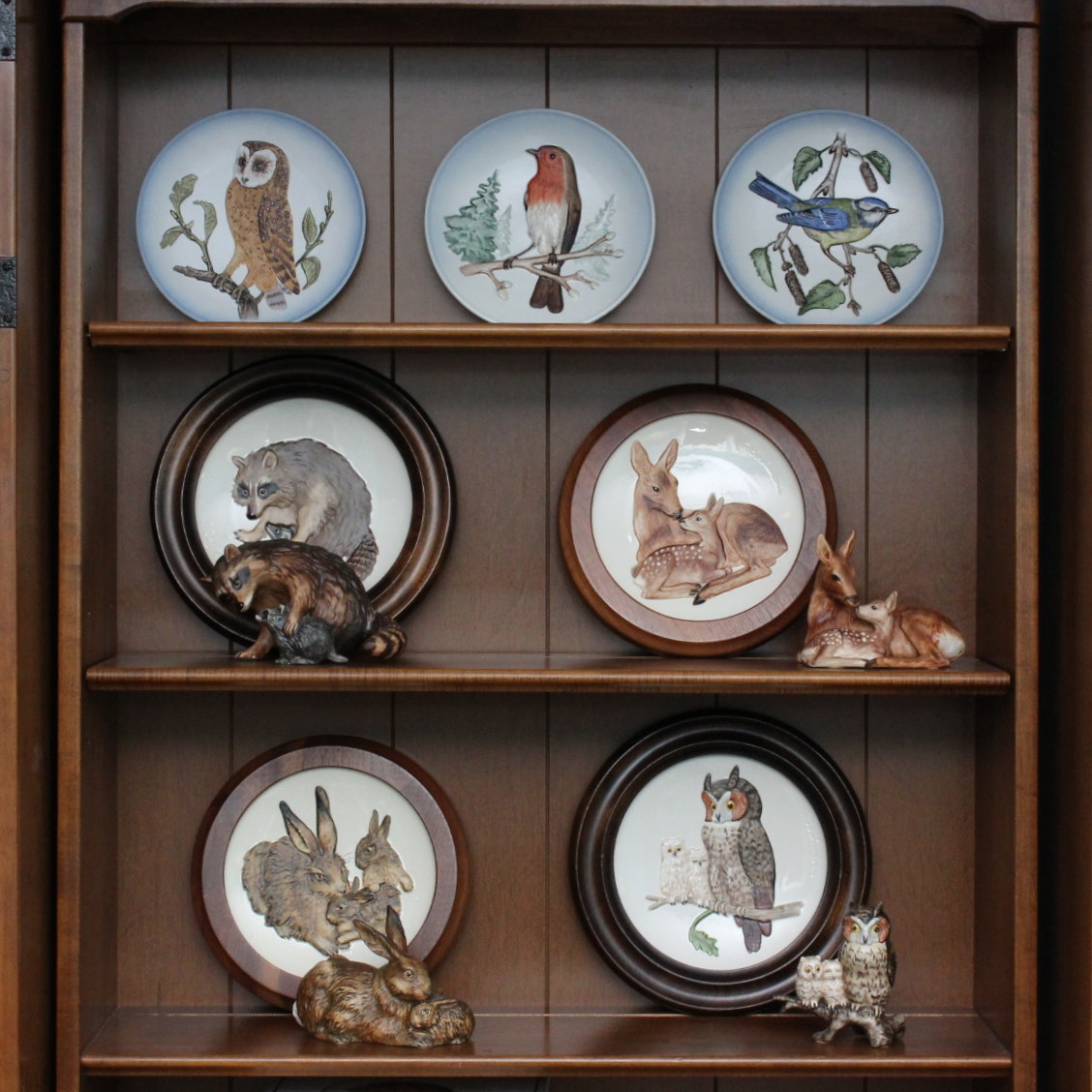 """Goebel """"Mothers Series"""" Plates and Figurines"""
