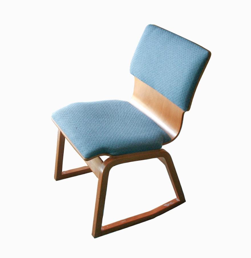 mid century bentwood rocking chair ebth