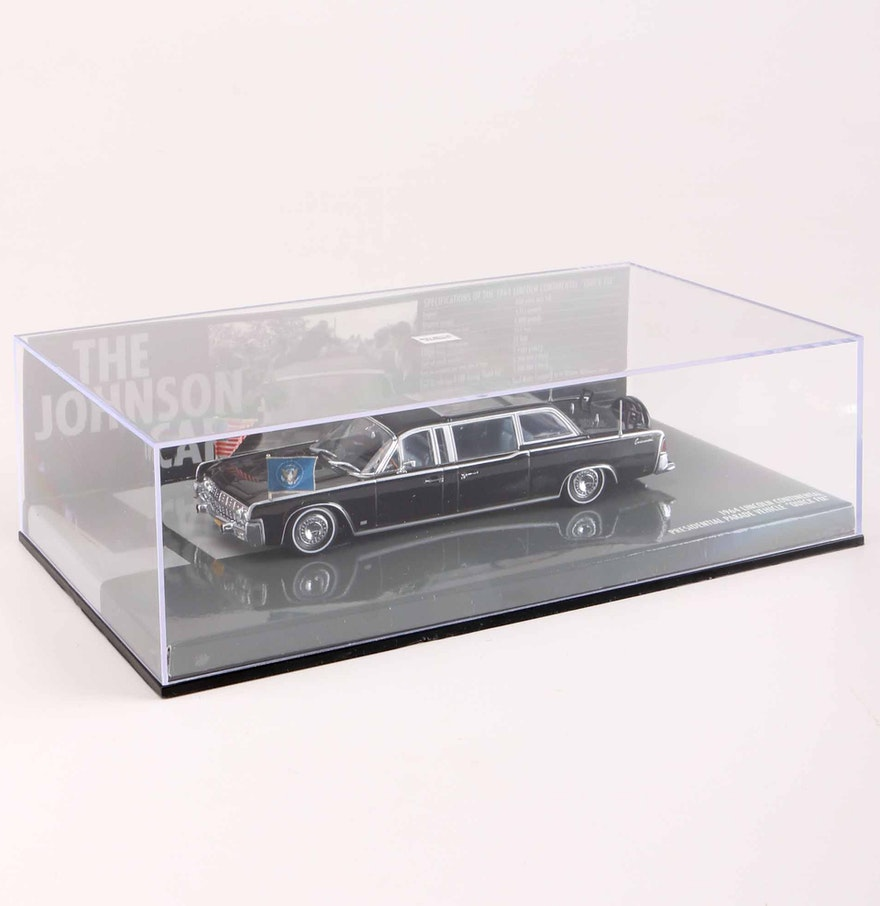 1964 lincoln continental die cast presidential limousine ebth. Black Bedroom Furniture Sets. Home Design Ideas