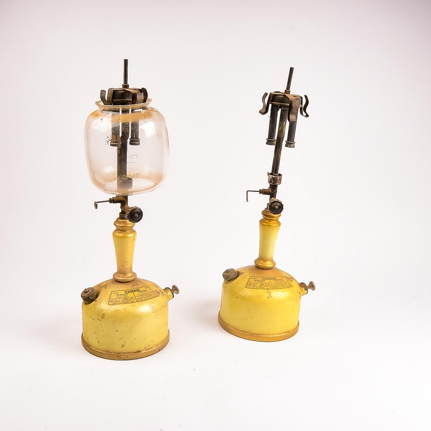 Coleman Model 139 Kerosene Lanterns