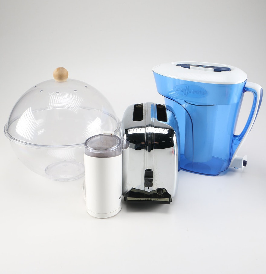 Uncategorized Toastmaster Kitchen Appliances assorted kitchen appliances by toastmaster zero water and krups
