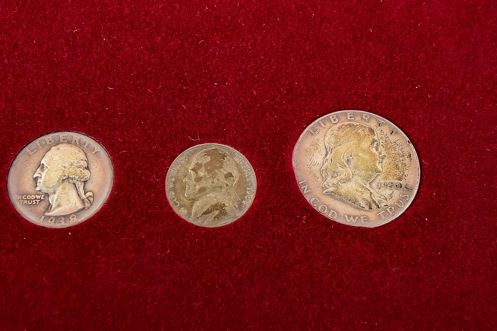 American Historic Society Coin Collection In Case Ebth