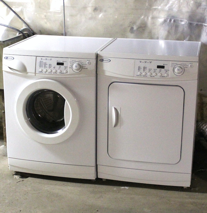 B C Washer ~ Maytag front load washer and dryer ebth
