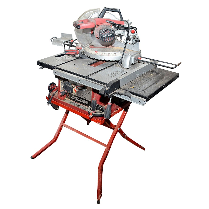 Skilsaw miter saw and table saw combo ebth skilsaw miter saw and table saw combo greentooth Choice Image