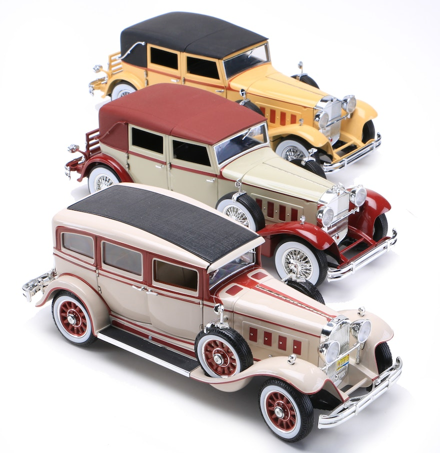Three 1930s Die-Cast Cars : EBTH