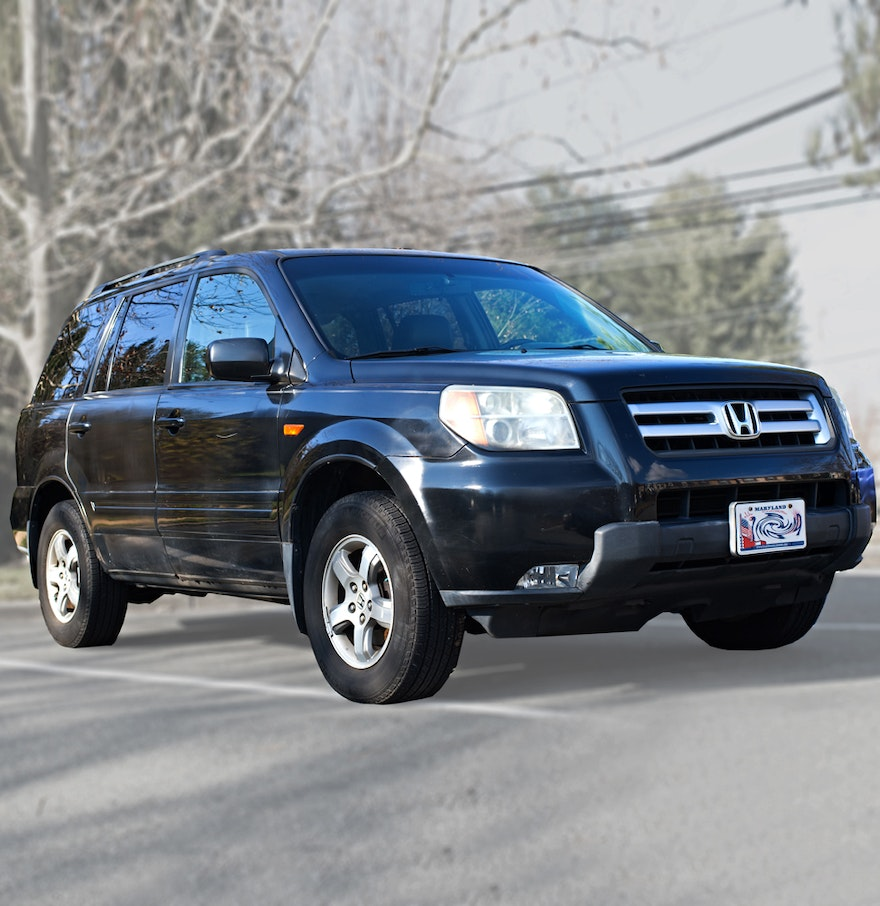 Black 2006 honda pilot ebth for Black honda pilot