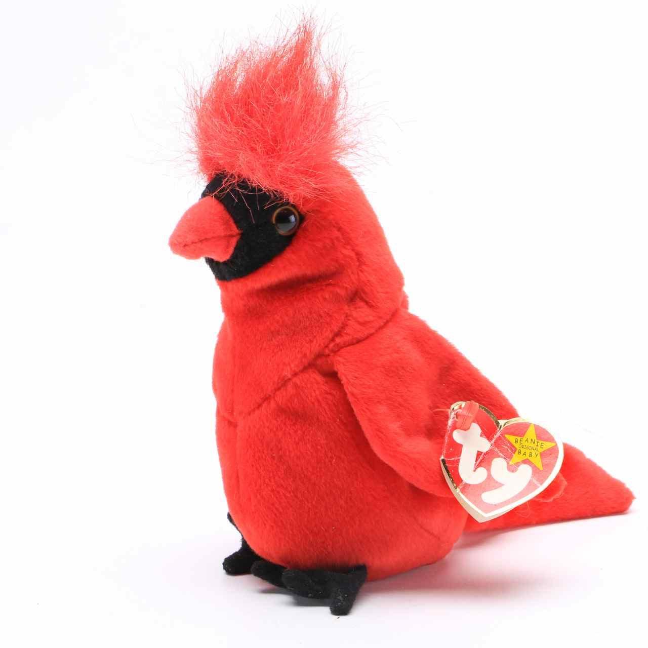 Rare Cardinal Beanie Baby Ebth
