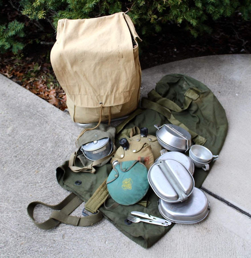 Vintage Scout Camping Gear : EBTH