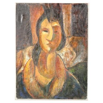 """Bob Guccione Giclee """"Portrait of a Roman Woman"""""""