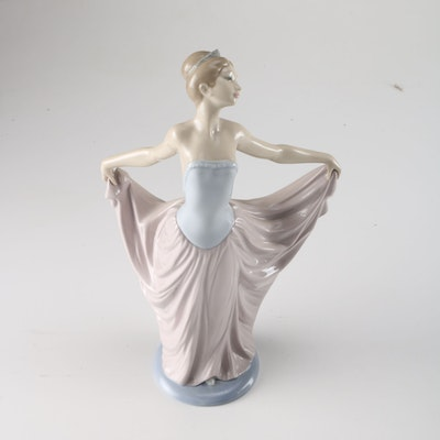 Vintage decor auctions vintage home decor for sale in art fashion housewares more - Consider including lladro porcelain figurines home decoration ...