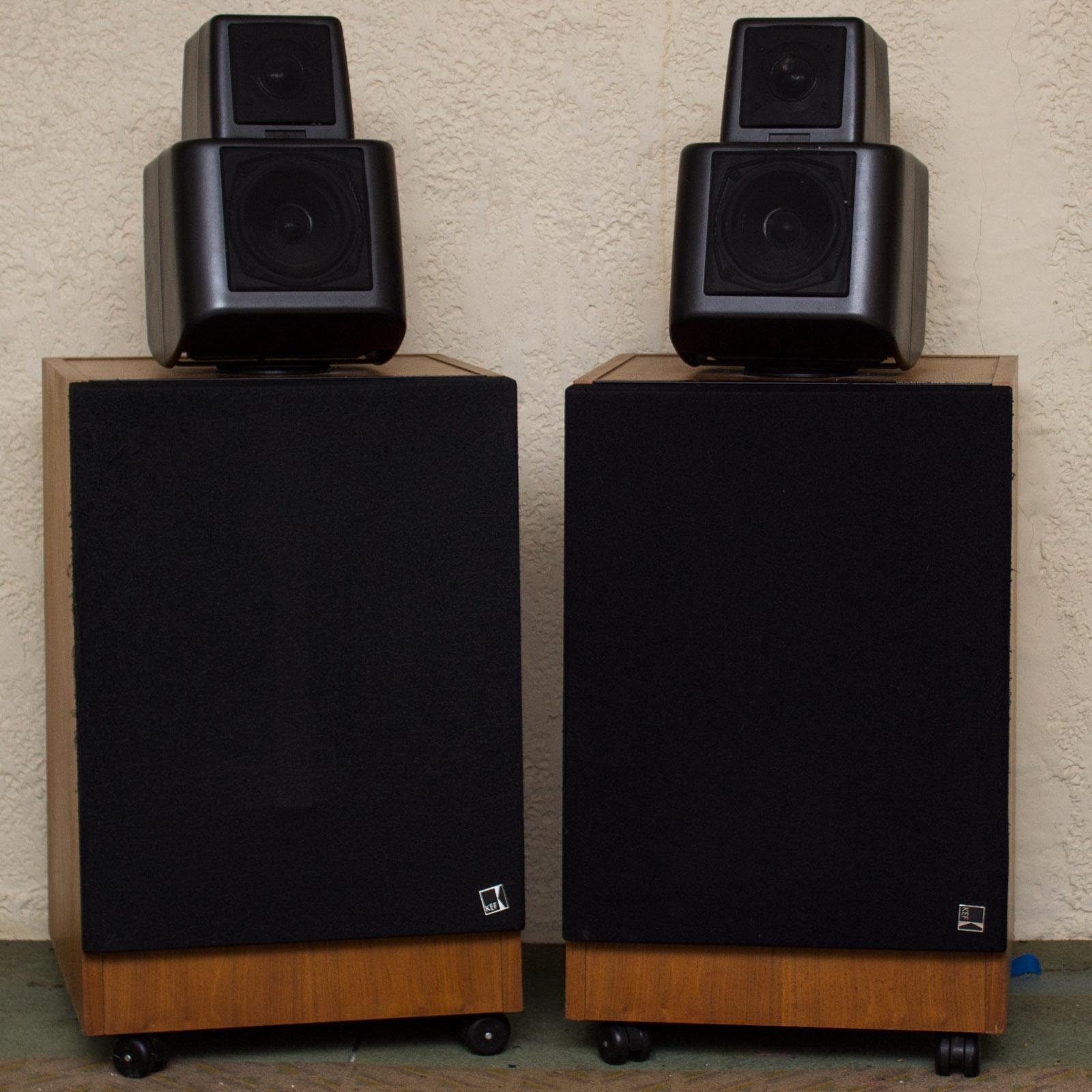 kef 105 2. pair of kef 105 series ii speakers kef 2 g