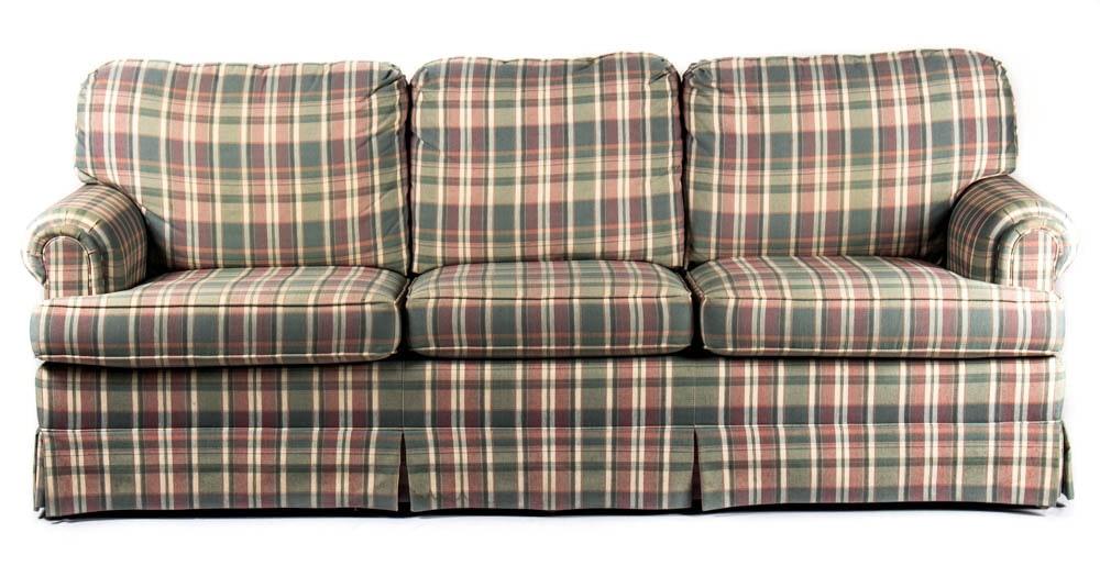 Pennsylvania House Plaid Sofa ...