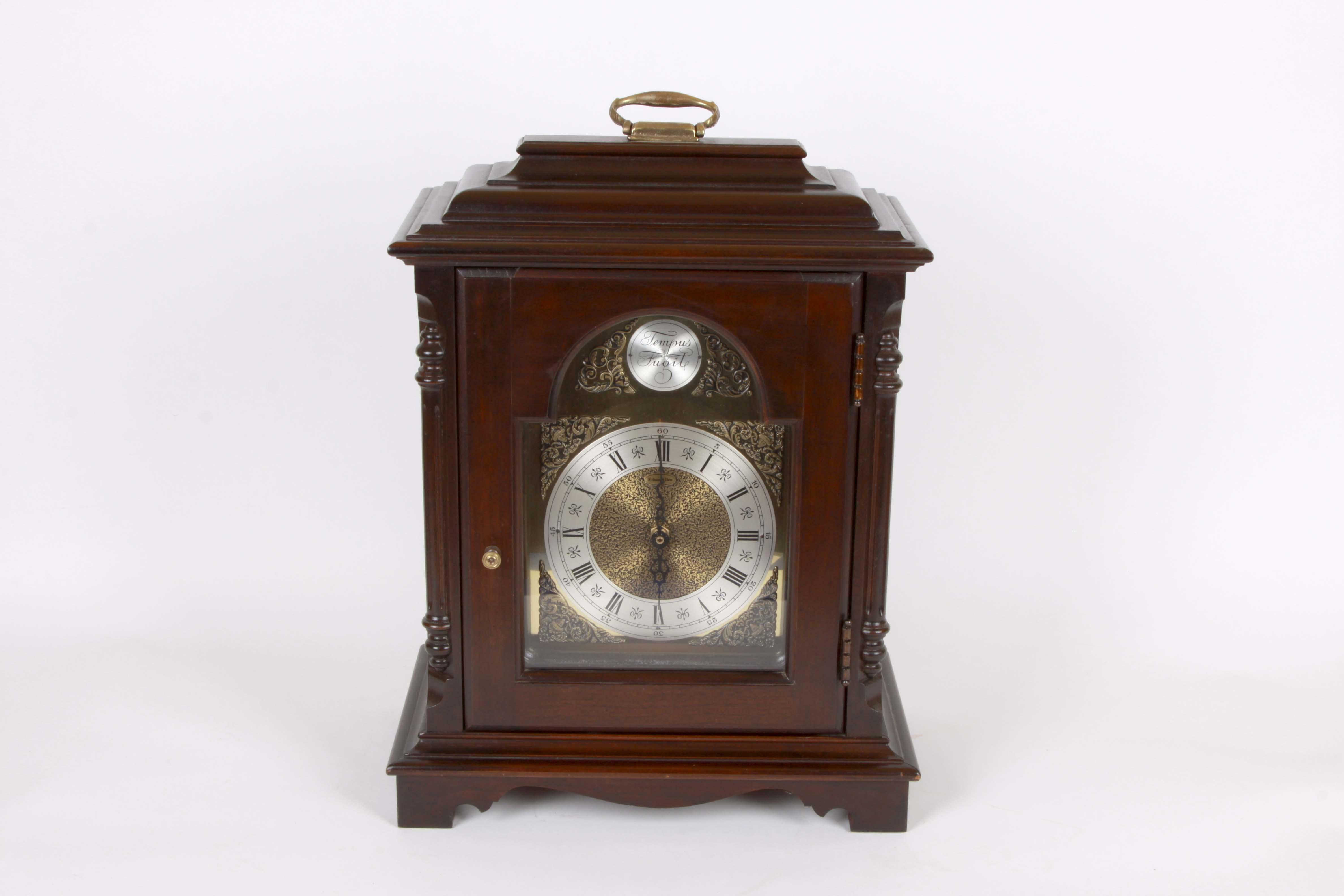 Ethan Allen Reproduction Tempus Fugit Mantle Clock : EBTH