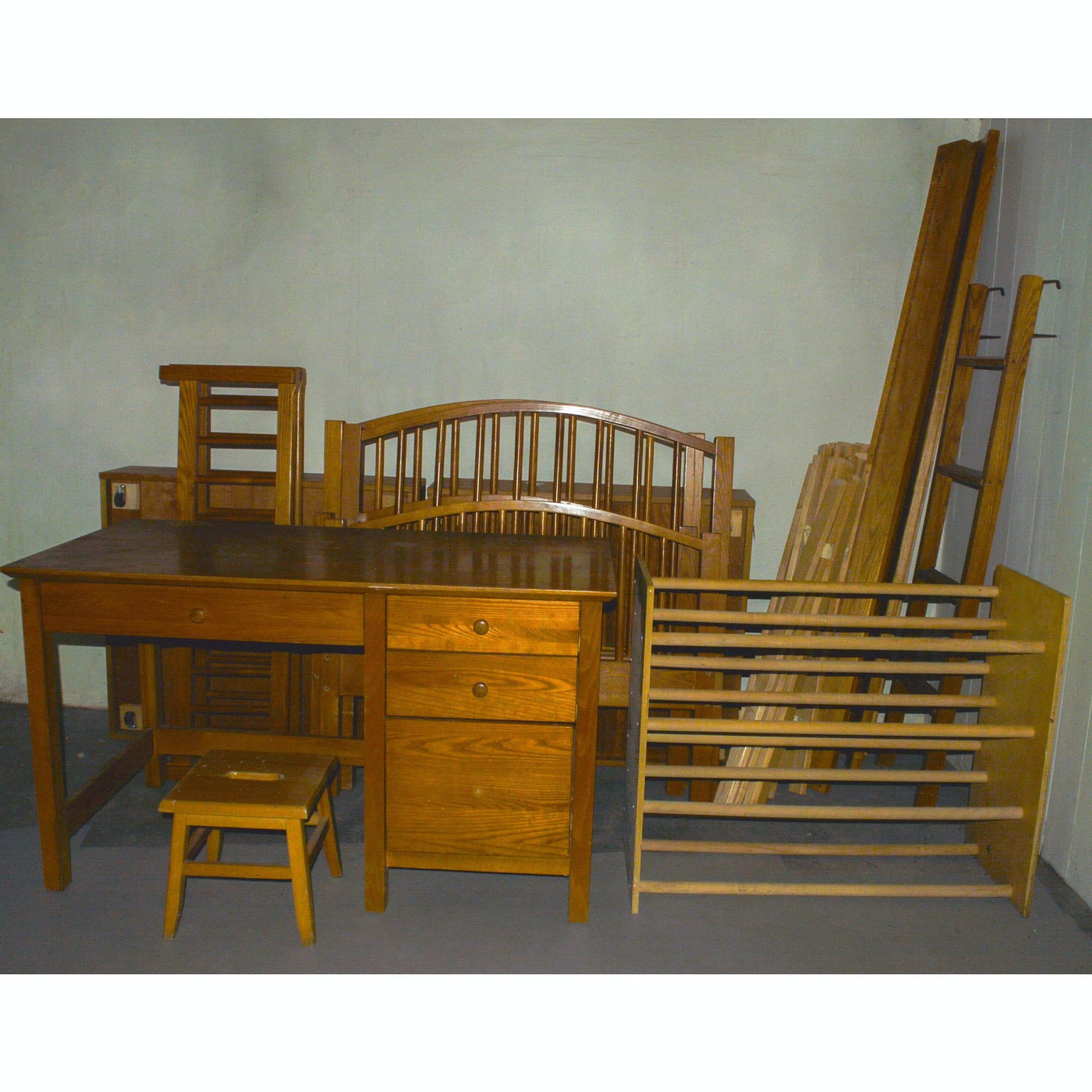 bunk bed sets with desk. desk bunk bed and futon. dorm room merlot