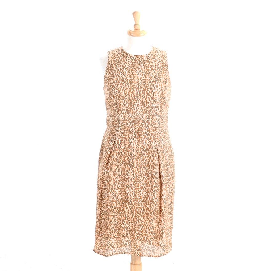 84af9449df7ff Burberry London Silk Leopard Print Dress   EBTH