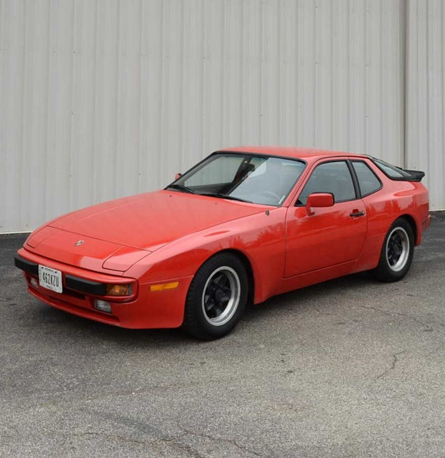 1984 red porsche 944 ebth. Black Bedroom Furniture Sets. Home Design Ideas