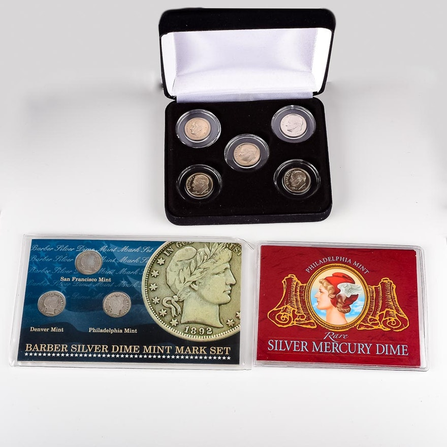 Collection of Commemorative Dimes