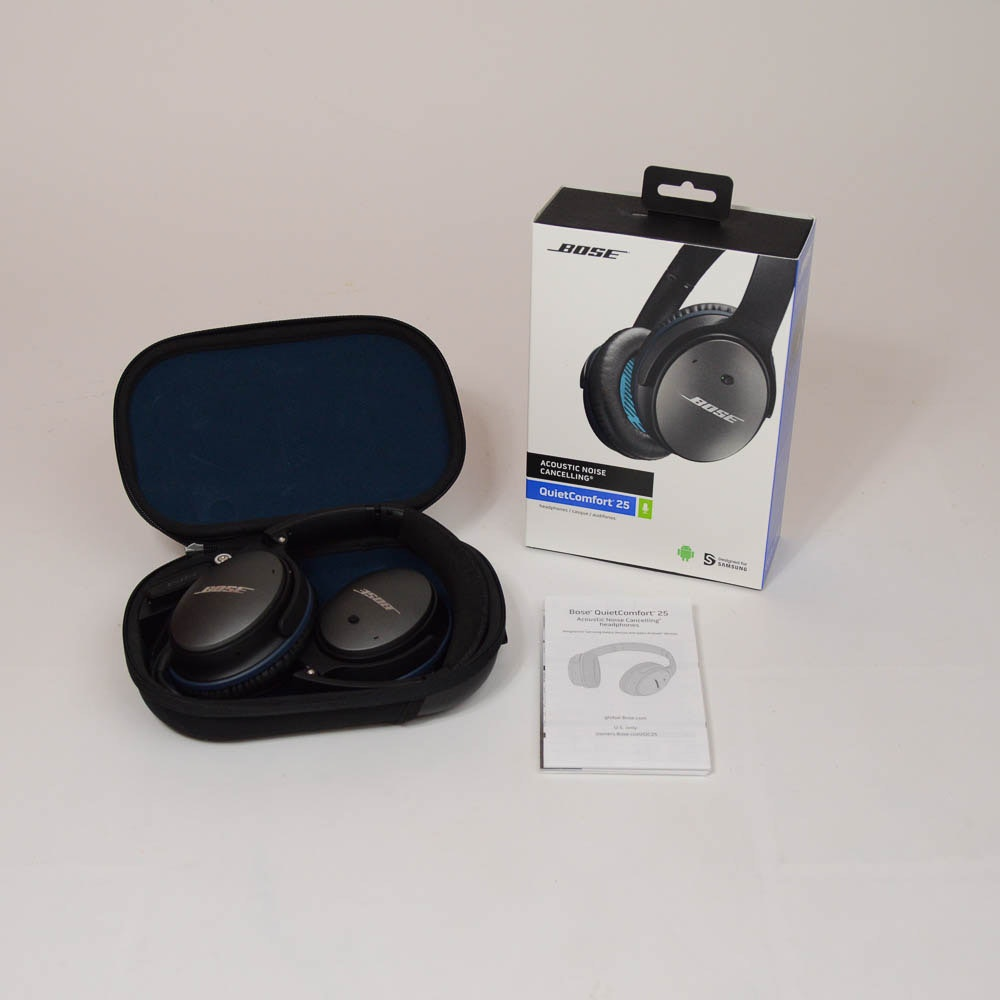 Bose QuietComfort 25 Acoustic Noise Cancelling Headphones : EBTH