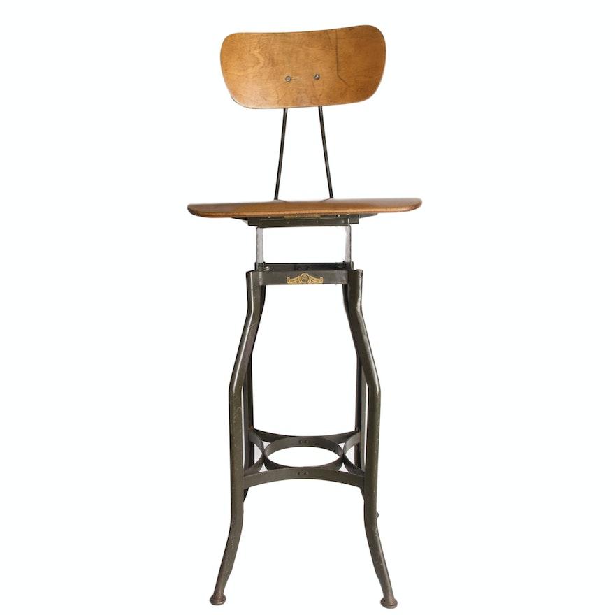 Enjoyable Industrial Toledo Bar Stool Short Links Chair Design For Home Short Linksinfo