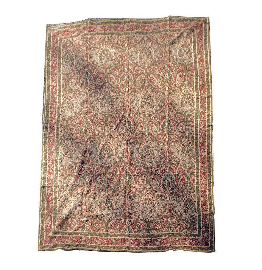 Indian Chain Stitch Rug : EBTH