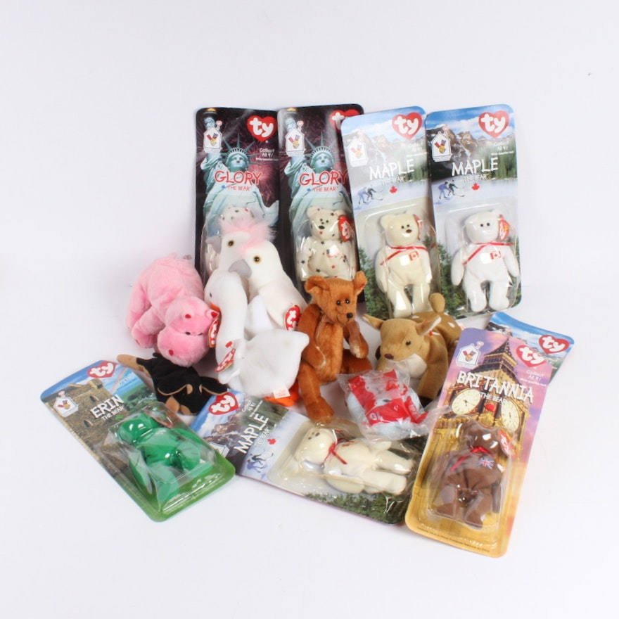 Collection of McDonald s TY Beanie Babies   EBTH 6a3f18fee364