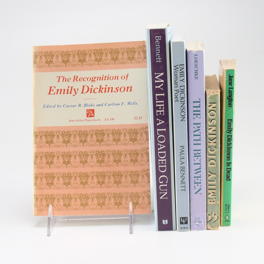 an analysis of the scenes of emily dickinson books Manuscript books of emily dickinson this edition, invaluable though it has been to this edition, invaluable though it has been to dickinson studies, is also limited as werner notes, franklin's work, offers a portrait.