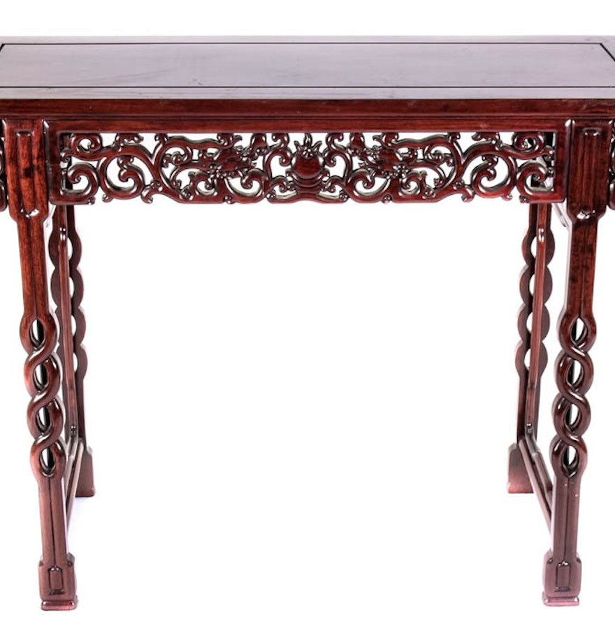 Th century asian style console table ebth