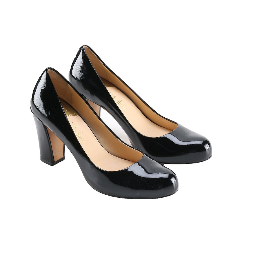 0f99e75626b5 Cole Haan Nike Air Black Patent Leather Pumps   EBTH