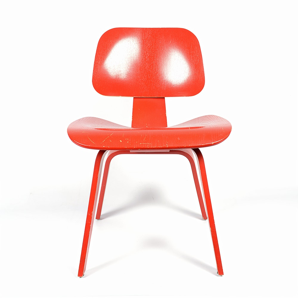 Herman Miller Eames Style Molded Plywood Chair EBTH