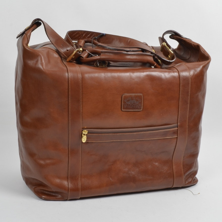 Valentina In Pell Leather Luggage Bag