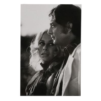 Original 1970s Still Photograph of Bob Guccione and Kathy Keeton