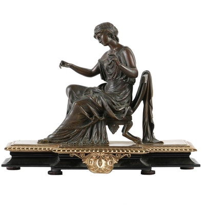 A Classical Bronze Sculpture