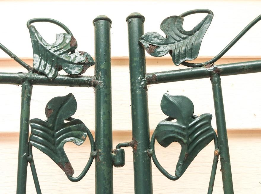 Metal Folding Plant Stand Ebth