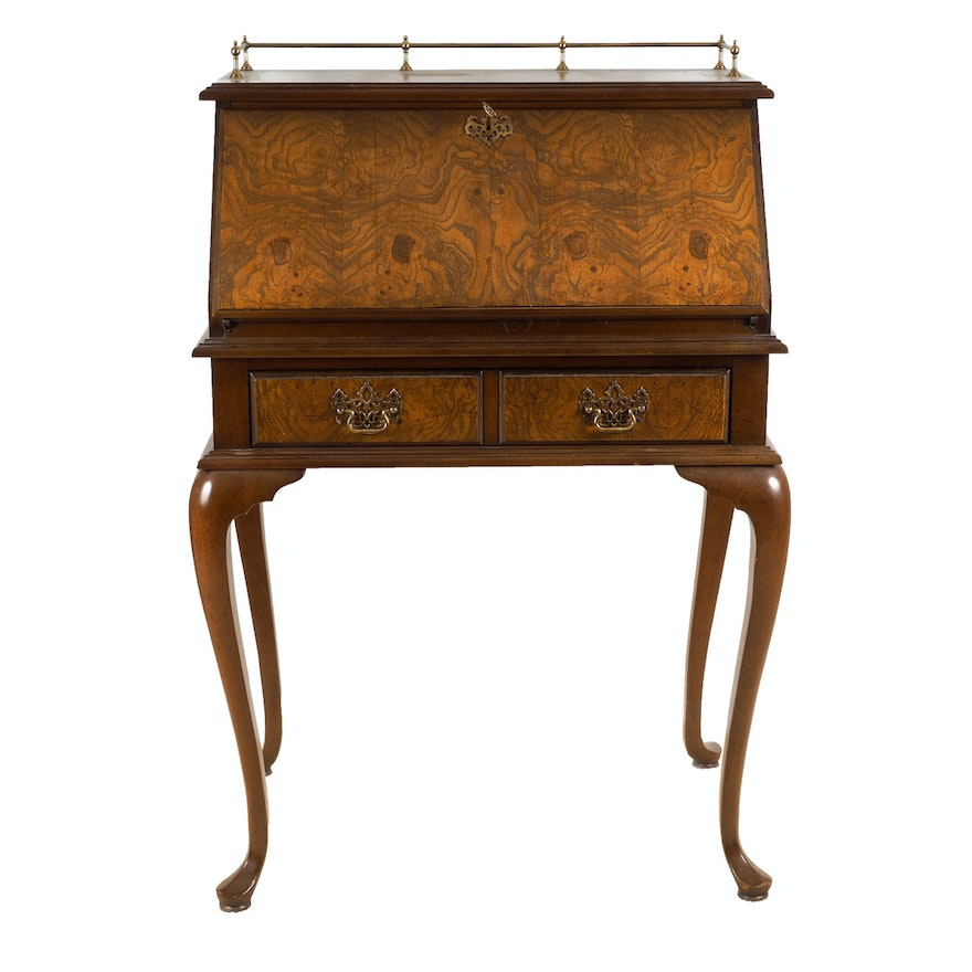 French Style Ladies Secretary Desk ... - French Style Ladies Secretary Desk : EBTH